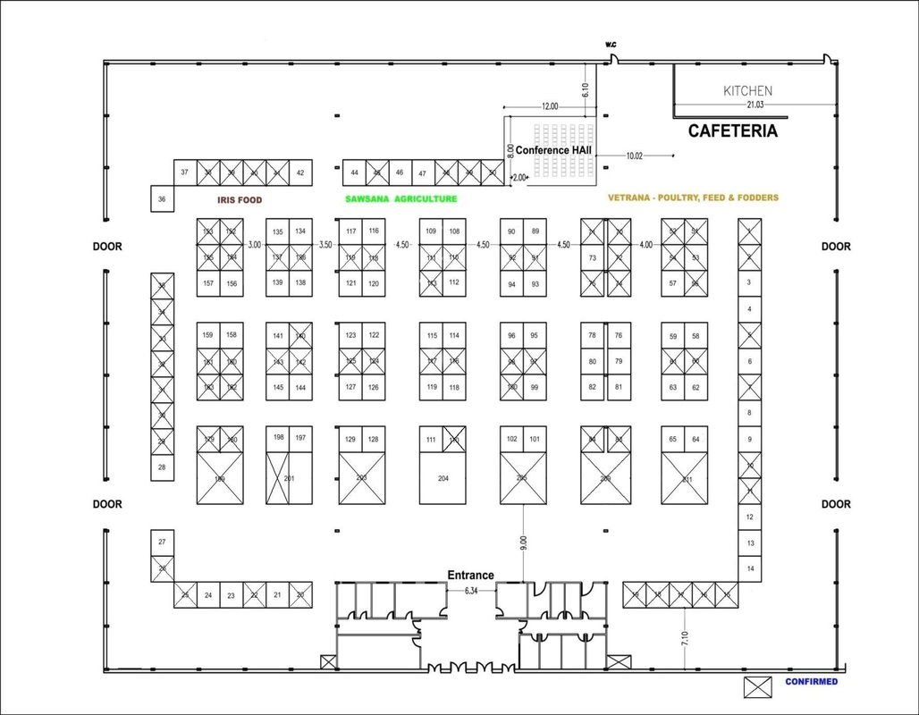 Floor plan vetrana poultry expo 2013 for Create own floor plan